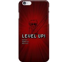 Level Up (w/ Scott Pilgrim) iPhone Case/Skin