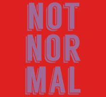 Not Normal Kids Tee