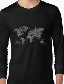 Bike Atlas Long Sleeve T-Shirt