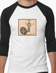 Frederick in Sepia Men's Baseball ¾ T-Shirt