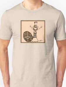 Frederick in Sepia Unisex T-Shirt