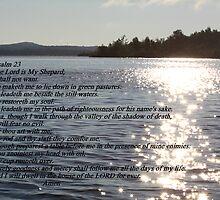 The Lord Is My Shepard by gypsykatz