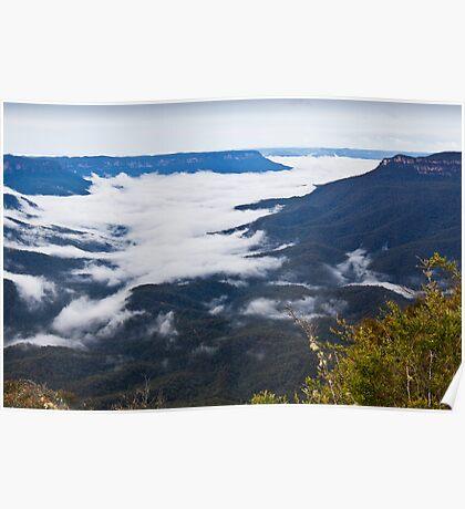 Sublime Point - Blue Mountains NSW Australia Poster
