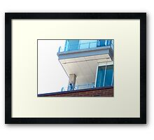 Praising the penthouse Framed Print