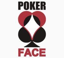 Poker Face Baby Tee