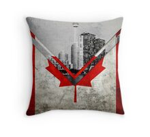 Flags - Canada Throw Pillow