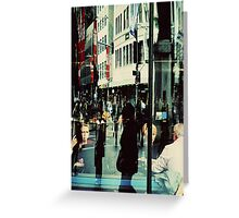 Urban Echoes.... Greeting Card