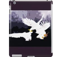 Wild nature - eagles iPad Case/Skin