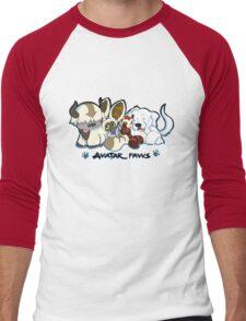 Avatar Paws Men's Baseball ¾ T-Shirt