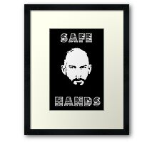 Tim Howard Safe Hands Framed Print