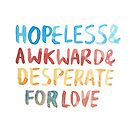 """Friends: """"Hopeless and awkward"""" by dictionaried"""
