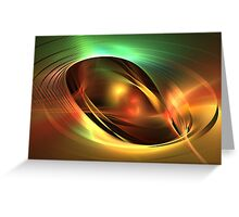 Accretion Disk Greeting Card