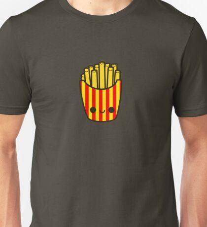 Yummy kawaii fries Unisex T-Shirt