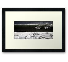 Big Wave Burleigh Framed Print