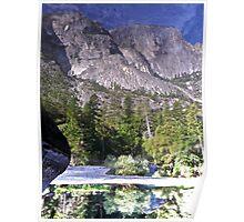 Illusions of Grandeur in Yosemite Poster