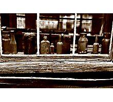 Bodie Bottles Photographic Print