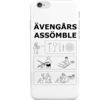 Superheroes Assembling iPhone Case/Skin