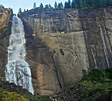 Nevada Falls- Yosemite by EarthPhoenix