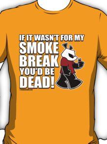 Pissed OFF Panda Smoke Break T-Shirt