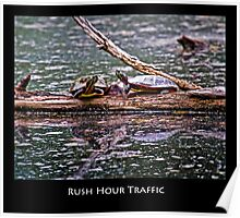 Rush Hour Traffic Jam Poster