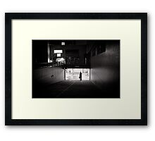 Waiting for my ride - Japan Framed Print