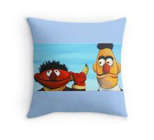 The Banana Gag Throw Pillow