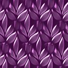 Purple pattern I phone Case ( 612  Views) by aldona