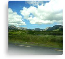 Roadtrip Paradise Canvas Print
