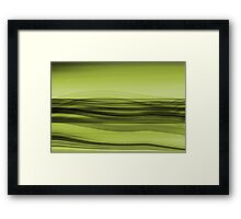 the flow Framed Print