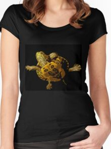 Wild nature - turtle Women's Fitted Scoop T-Shirt