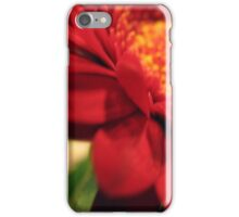 Red Passion iPhone Case/Skin