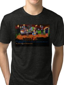 Maniac Mansion - Day of the Tentacle #01 Tri-blend T-Shirt