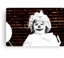 Clowns 4 Canvas Print