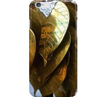 gold leaves iPhone Case/Skin