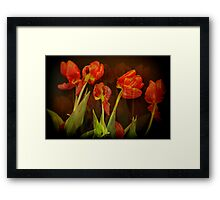 These memories past... Framed Print