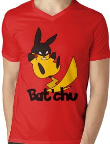 Bat'chu Mens V-Neck T-Shirt
