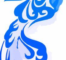 Blue Phoenix Sticker