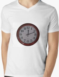 clock Mens V-Neck T-Shirt
