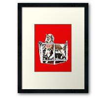 Rocking Horse Framed Print