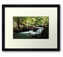 korrumbyn creek ... Framed Print