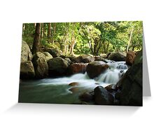 korrumbyn creek ... Greeting Card