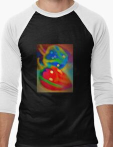 Dreamy peppers abstract Men's Baseball ¾ T-Shirt
