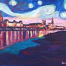 Starry Night in Dresden by artshop77