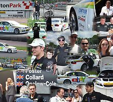 eBay Motors British Touring Cars team at Oulton Park by Matt Eagles