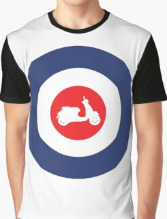 Vespa GTS Sport Mod Culture Graphic T-Shirt