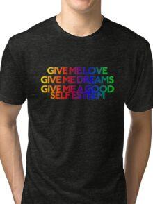 GIVE ME BLUE Tri-blend T-Shirt