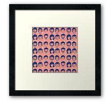 All eyes on me. Framed Print