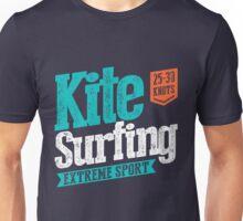 Kitesurfing 25-30 Knots Extreme Sport Unisex T-Shirt