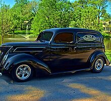 1937 Ford Sedan Delivery Truck by TeeMack
