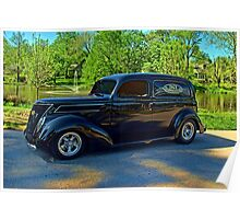 1937 Ford Sedan Delivery Truck Poster